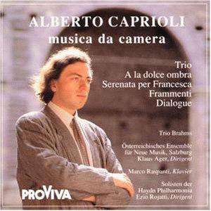 ALBERTO CAPRIOLI - DISCOGRAFIA